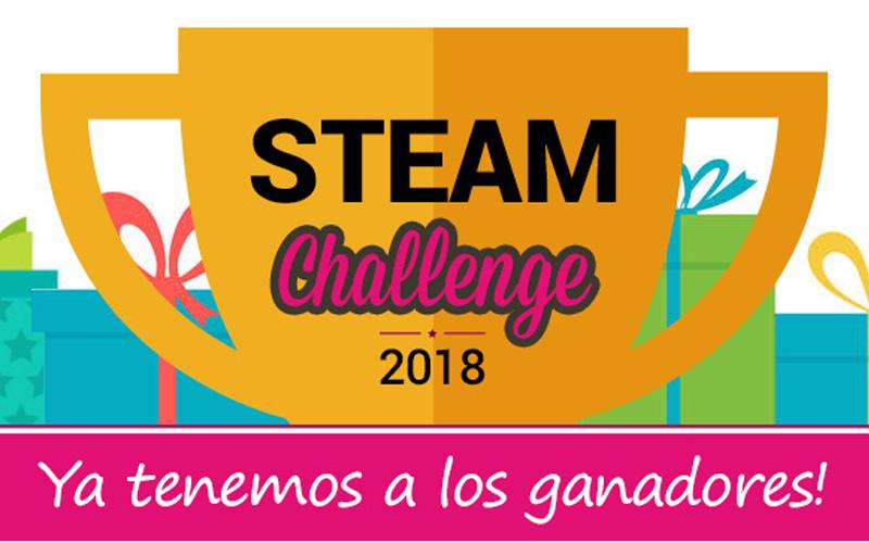 Ganadores Campeonato STEAM Challenge