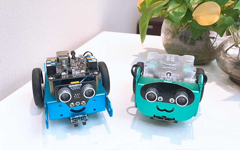 Comparativa mBot vs Mio